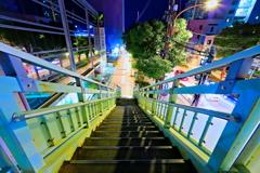 夜の歩道橋2