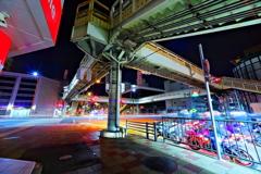 夜の歩道橋3