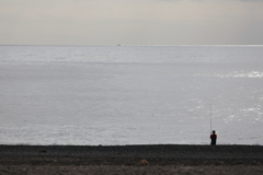 一人海と向き合う