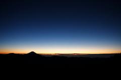 南アルプス茶臼岳-上河内岳~夜明け前の時間~