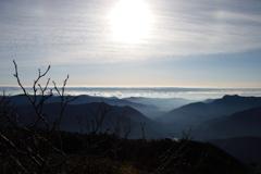 南アルプス茶臼岳-上河内岳~稜線からの山々~