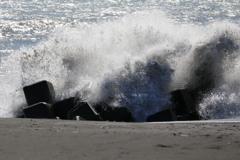 台風一過 爆発