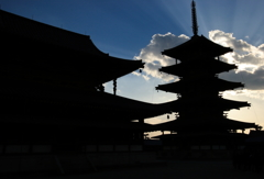 京都-奈良~柿食えば鐘が鳴るなり法隆寺~