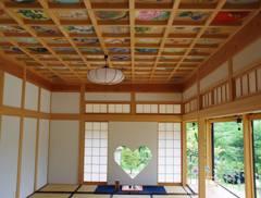 正寿院のハート窓