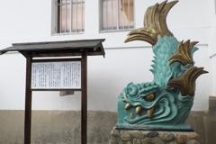伊賀上野城ー白鳳城 天守閣 鯱