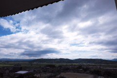 伊賀上野城ー白鳳城 天守閣からの空