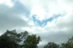 伊賀上野城ー白鳳城 空
