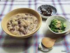 小正月の小豆粥