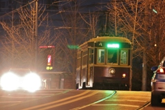坂道の路面電車