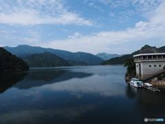 田子倉湖(只見町)