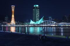 神戸港の夜2