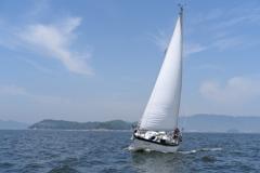 Sailing in Mikawa Bay