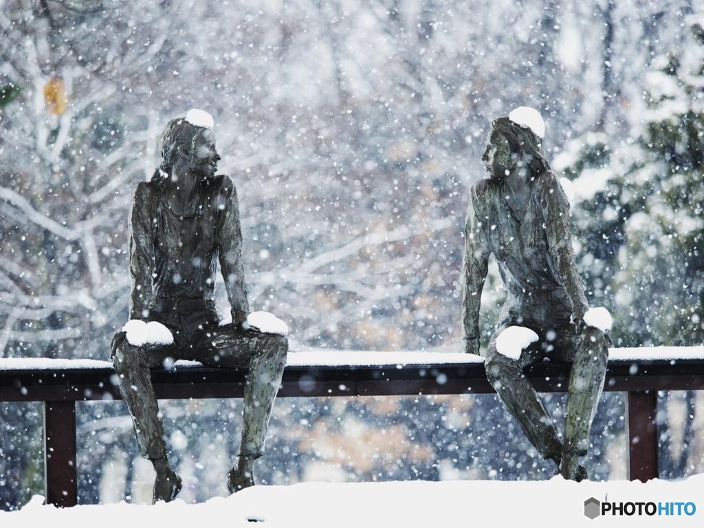 今日も寒いですね