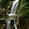 障子の滝俯瞰図。
