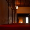 緋の廊下。