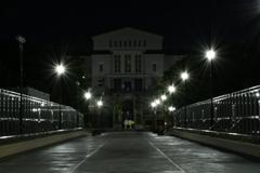 美術館への道。