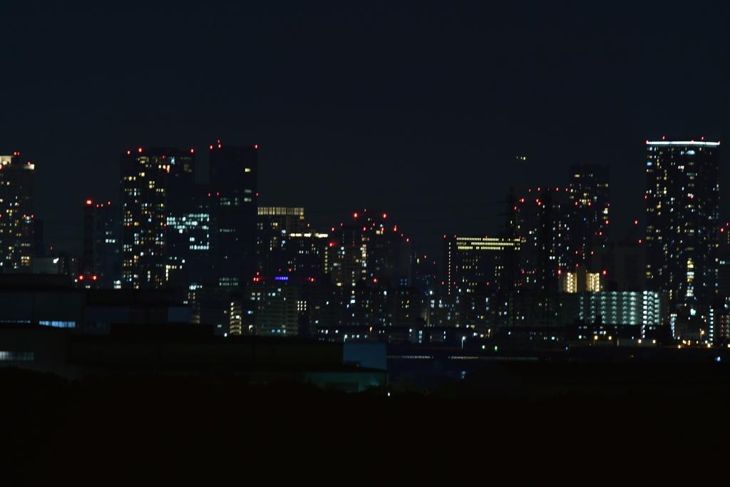 或る夜景。