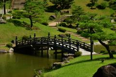 池泉回遊式庭園。