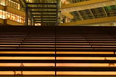 光の階段。
