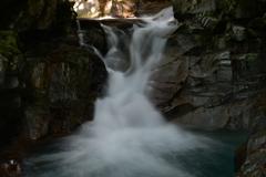 滝に魅かれて。