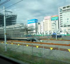 新駅の様子