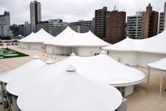 謎のテント