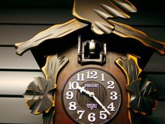 懐かしい鳩時計