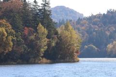 秋のチミケップ湖