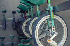 Unicycle storage