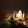 元町教会群の夜景