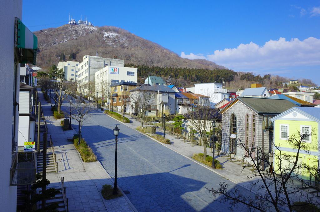 八幡坂の風景