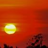 荘厳なる落日