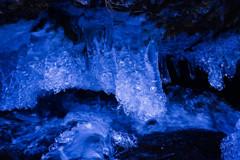 氷のシャンデリア