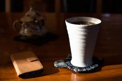 喫茶店のアイスコーヒー