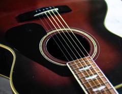 弟のギター