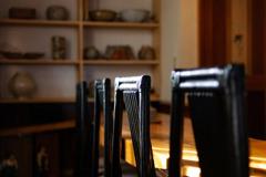 喫茶店のカウンター