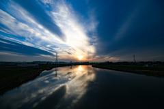 川と空(HDR無し)