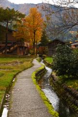 秋の白川郷②