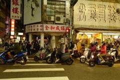 台湾の日常。。バイク社会