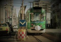 マスク電車 1