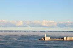 気嵐と灯台 2