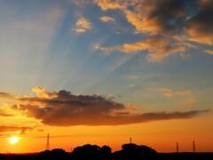 ある日の夕景 5