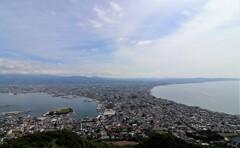 函館山から 昼