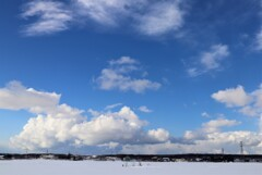 爽やかな冬空