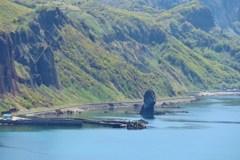 積丹半島は奇岩の宝庫