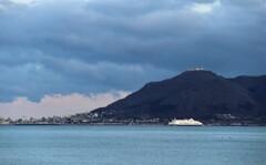 函館山 そして フェリー船