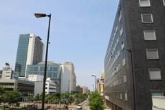 札幌散歩28 創成川北を望んで