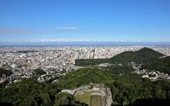 札幌中心部全貌 大倉山より