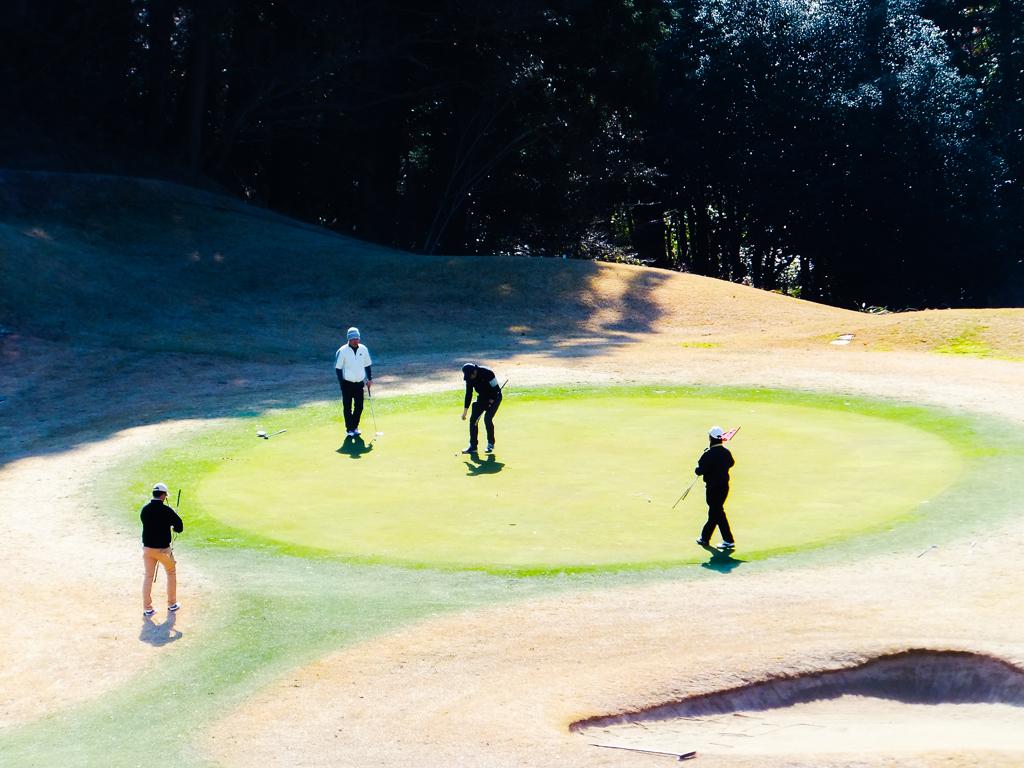 新春ゴルフ