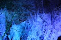 尾ノ内渓谷の氷柱②